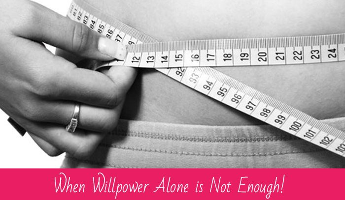 When willpower alone is not enough